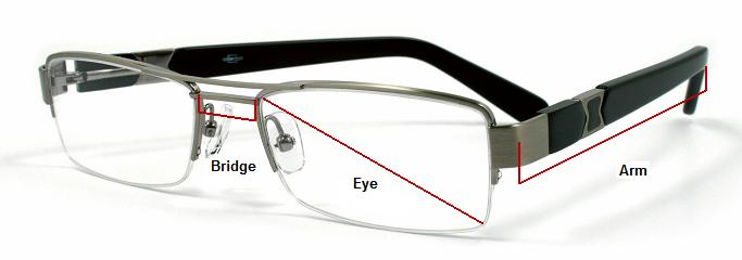 Glasses Sizes - Taking Measurements