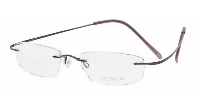 Rimless Glasses Maximum Prescription : Superlite 01 - Titanium Rimless Glasses