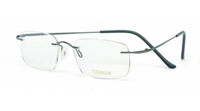 Superlite 08 - Titanium Rimless Glasses