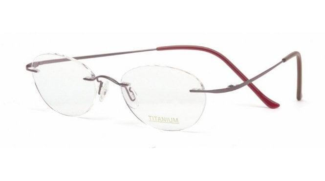 Rimless Glasses Maximum Prescription : Superlite 12 - Titanium Rimless Glasses