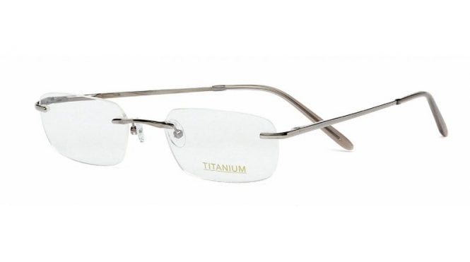 Superlite 14 - Titanium Rimless Glasses