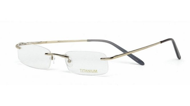 Superlite 15 - Titanium Rimless Glasses