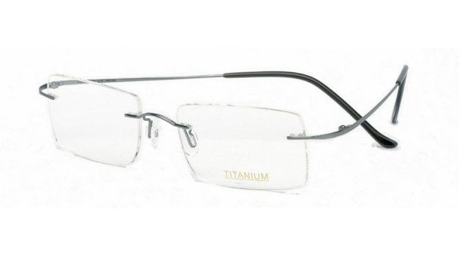Superlite 13 - Titanium Rimless Glasses