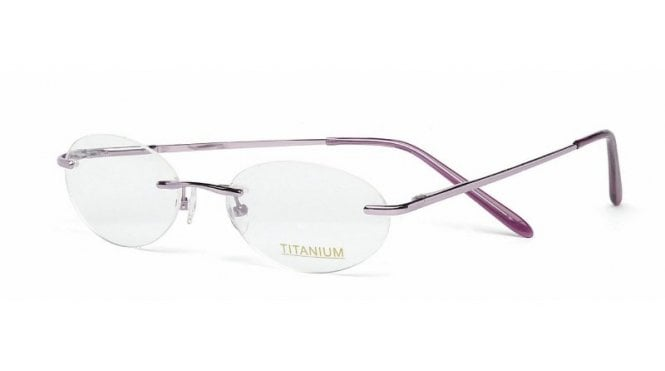 Superlite 16 - Titanium Rimless Glasses