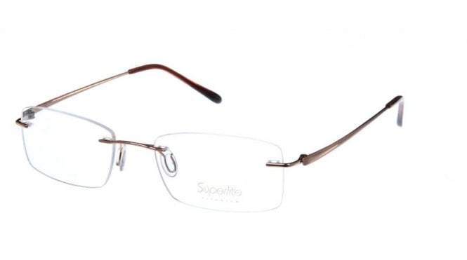 Superlite 34 - Titanium Rimless Glasses