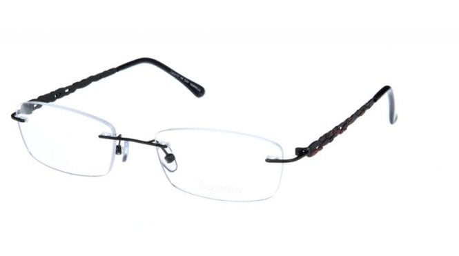 Superlite 44 - Stainless Steel Rimless Glasses