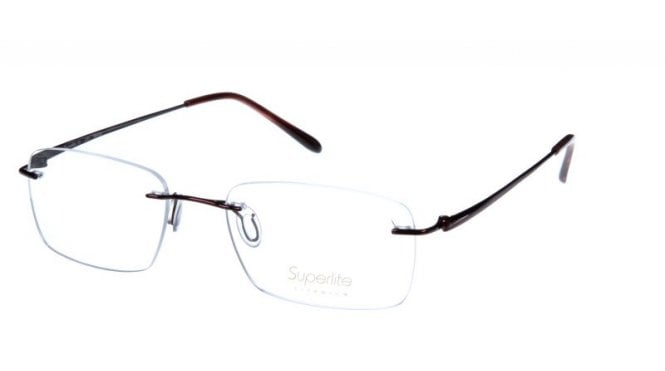 Superlite 37 - Titanium Rimless Glasses