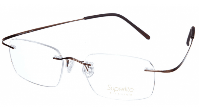 Superlite 03 - Titanium Rimless Glasses