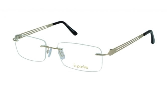 Superlite 47 - Titanium Rimless Glasses