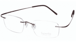 Superlite Titanium Rimless  Superlite 03 - Titanium Rimless Glasses
