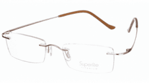 Superlite Titanium Rimless Superlite 19 - Titanium Rimless Glasses