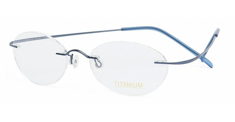 Superlite 06 - Titanium Rimless Glasses