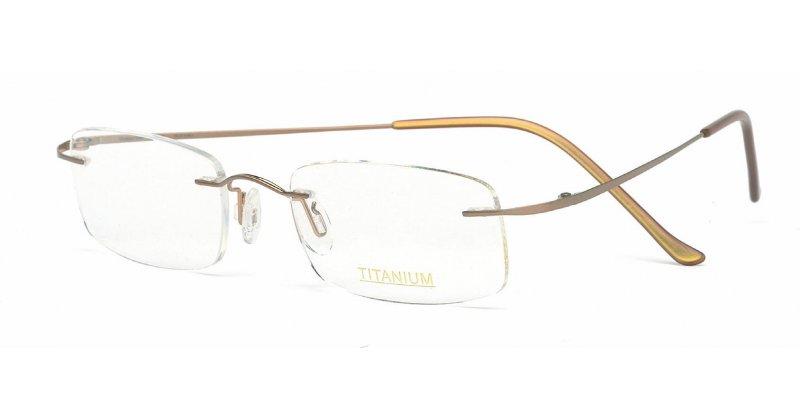Rimless Glasses Maximum Prescription : Superlite 07 - Titanium Rimless Glasses