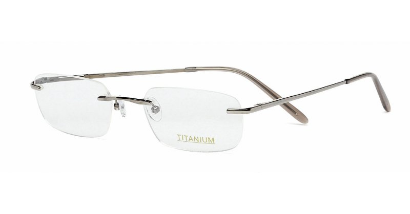 Rimless Glasses With High Prescription : Superlite 14 - Titanium Rimless Glasses
