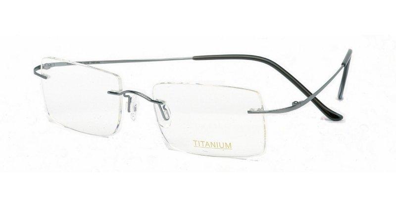 Rimless Glasses Maximum Prescription : Superlite 13 - Titanium Rimless Glasses