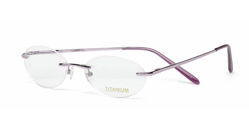 Rimless Glasses Maximum Prescription : Superlite 16 - Titanium Rimless Glasses