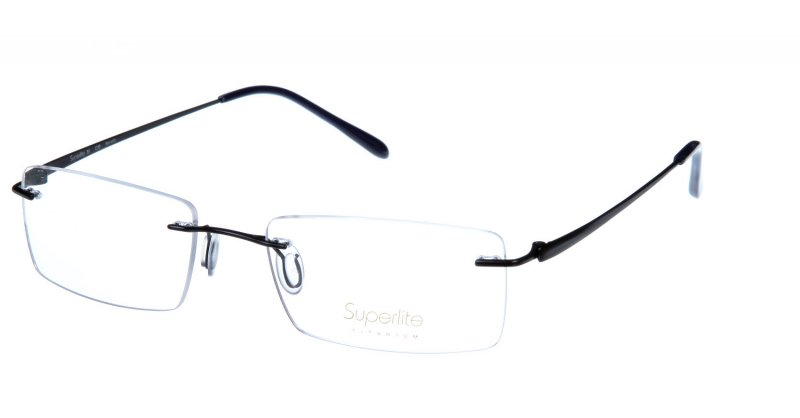 Superlite 35 - Titanium Rimless Glasses