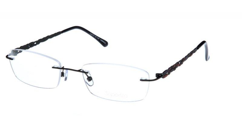 Rimless Glasses Edge Polish : Superlite 44 - Stainless Steel Rimless Glasses
