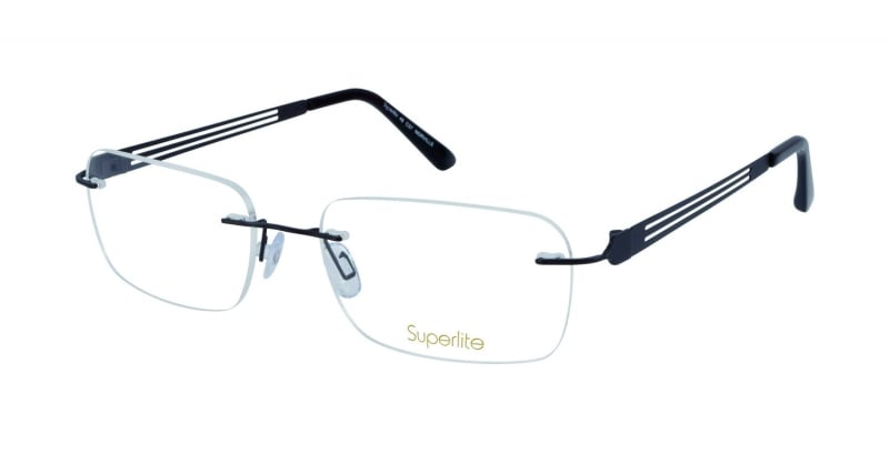 Rimless Glasses With High Prescription : Superlite 49 - Titanium Rimless Glasses