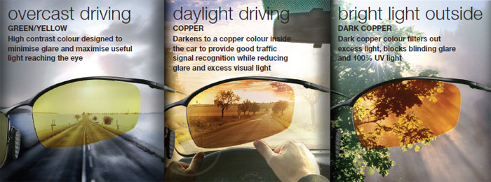 DriveWear Photochromic Lenses