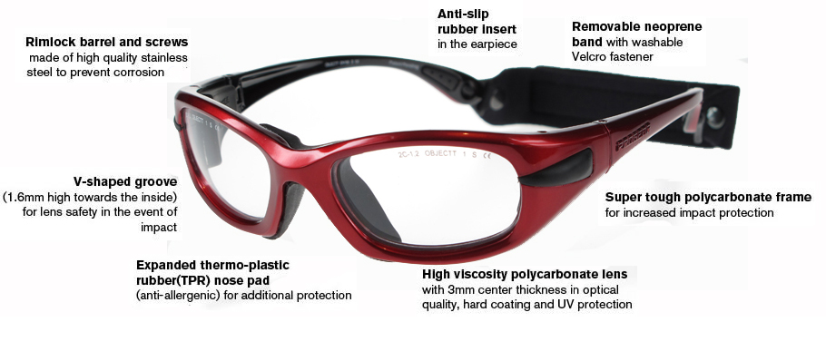 ed40a6bd95 ProGear EyeGuard Sports Glasses