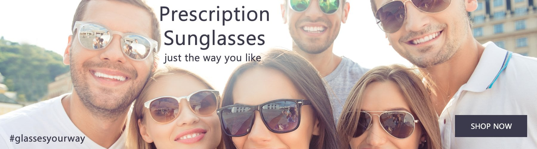 Prescription Sunglasses - Summer - Online Opticians UK