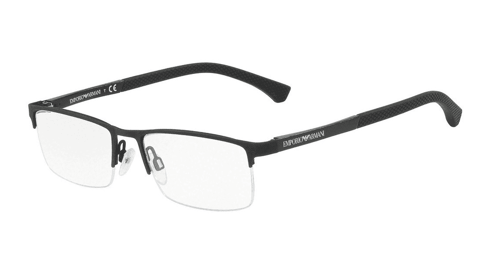 armani glass frames