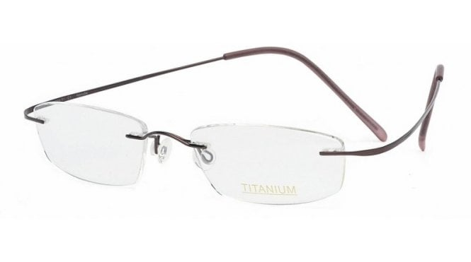 Superlite 01 - Titanium Rimless Glasses