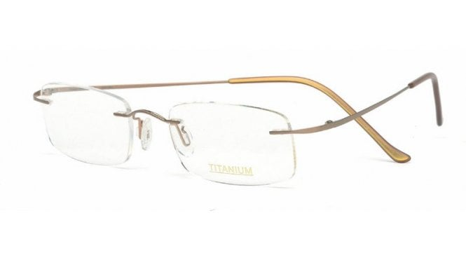 Superlite 07 - Titanium Rimless Glasses