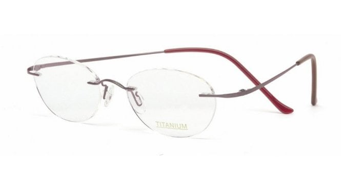 Superlite 12 - Titanium Rimless Glasses