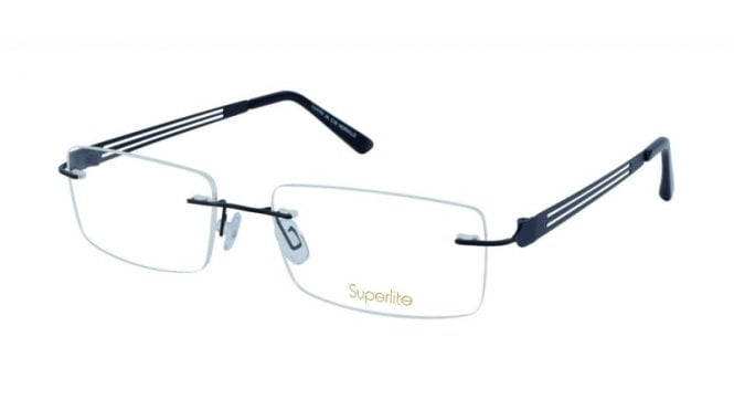 Superlite 45 - Titanium Rimless Glasses