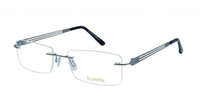 Superlite 48 - Titanium Rimless Glasses