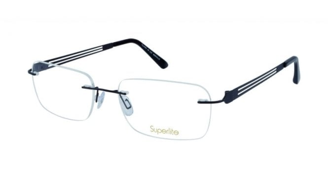 Superlite 49 - Titanium Rimless Glasses