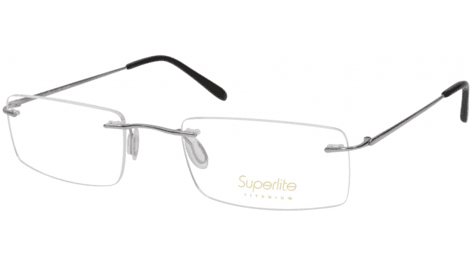 Superlite 52 - Titanium Rimless Glasses