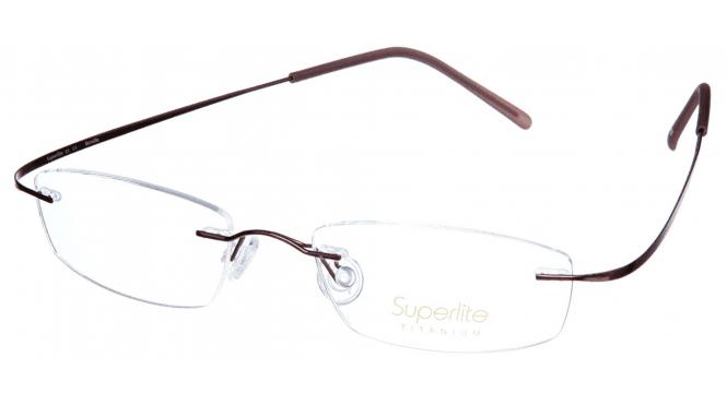 Superlite SL01 - Titanium Rimless Glasses