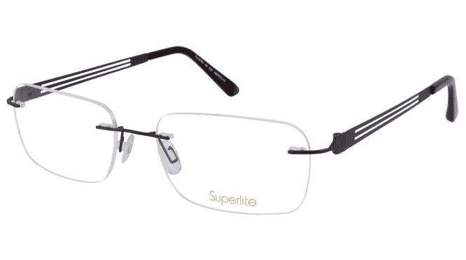 Superlite SL49 - Titanium Rimless Glasses