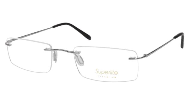 Superlite SL52 - Titanium Rimless Glasses