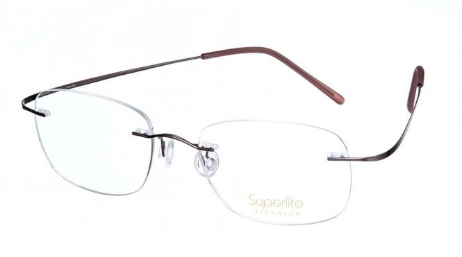 Superlite SL02 - Titanium Rimless Glasses