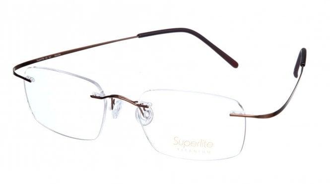 Superlite SL03 - Titanium Rimless Glasses