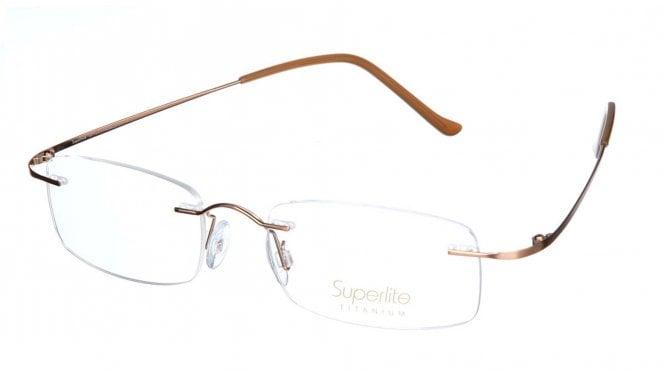 Superlite SL07 - Titanium Rimless Glasses