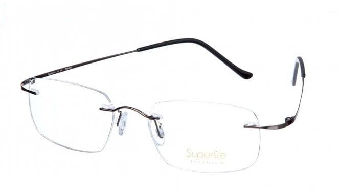 Superlite SL08 - Titanium Rimless Glasses