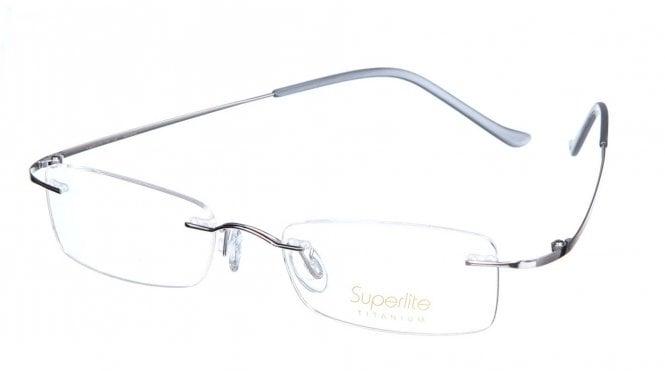 Superlite SL09 - Titanium Rimless Glasses