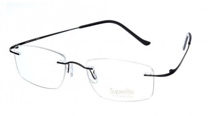 Superlite SL10 - Titanium Rimless Glasses