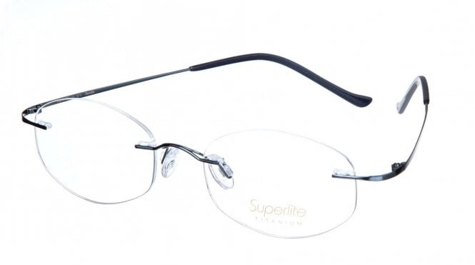 Superlite SL11 - Titanium Rimless Glasses