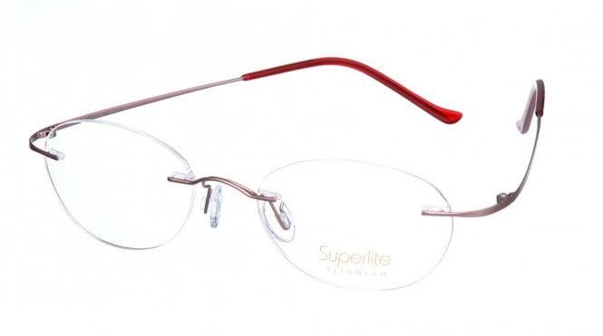 Superlite SL12 - Titanium Rimless Glasses