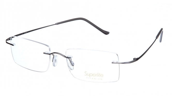 Superlite SL13 - Titanium Rimless Glasses