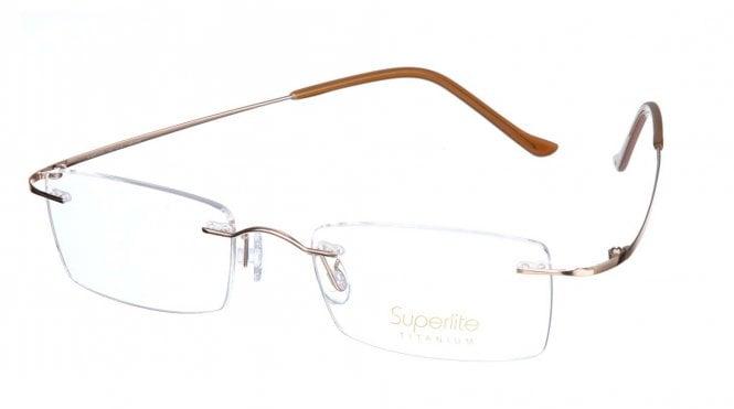 Superlite SL19 - Titanium Rimless Glasses