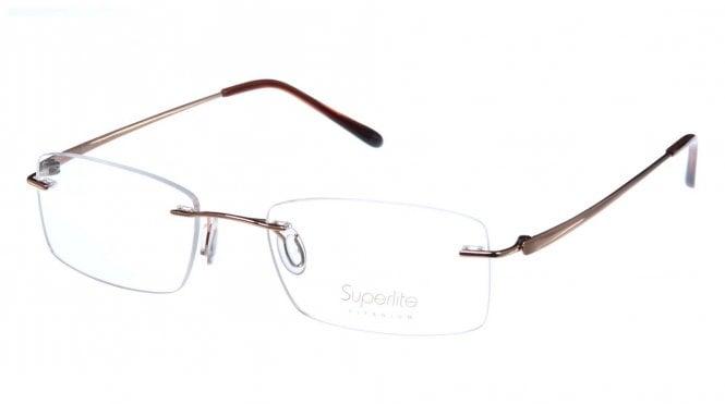 Superlite SL34 - Titanium Rimless Glasses