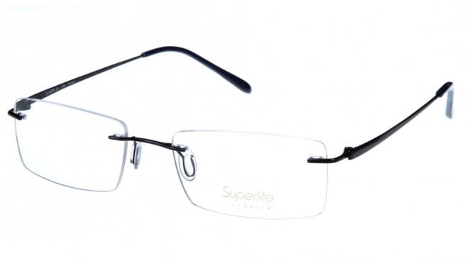 Superlite SL35 - Titanium Rimless Glasses