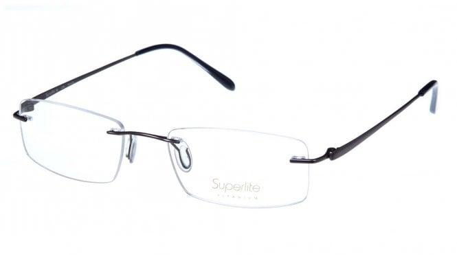 Superlite SL36 - Titanium Rimless Glasses